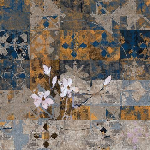 Bilde av Magnolia Gold av Maria Natalie Skjeset m/ ramme