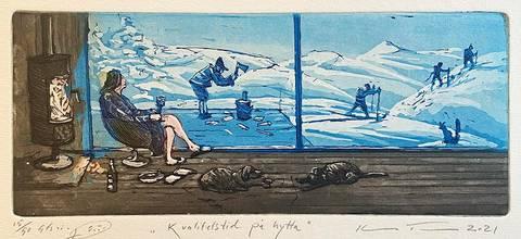 Bilde av Kvalitetstid på hytte av Kristian Finborud