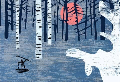 Bilde av Kalevala - Hiisis elg av Vegge og Kolsrud