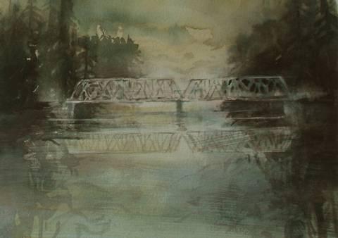 Bilde av Langs Glomma 1 av Mona Grønstad