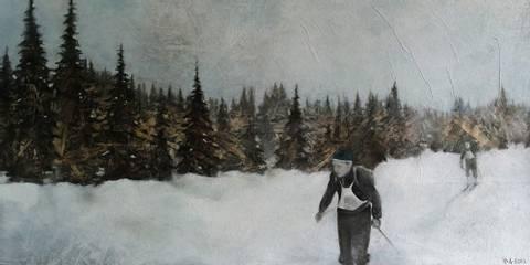 Bilde av Biriåsløp av Ida Løkken