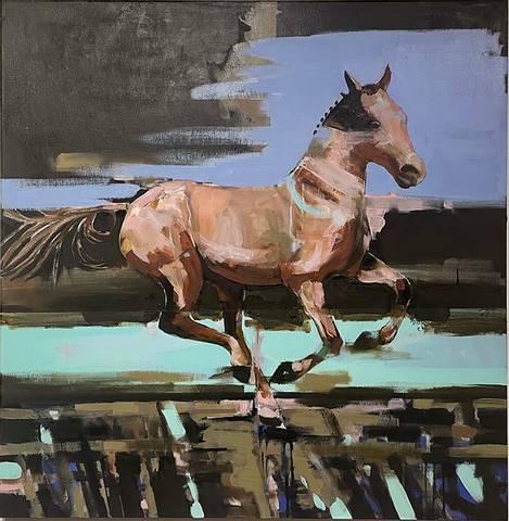 Bilde av Horse av Asbjørn Petershagen